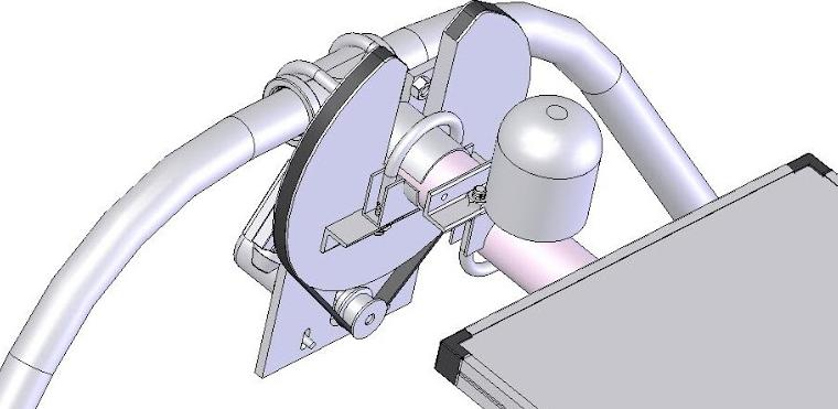 Walter Pearson's motor drive view