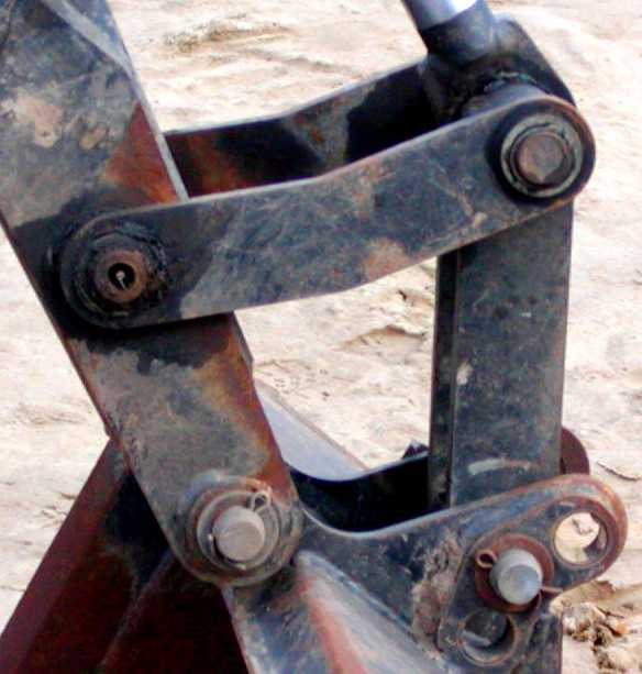 Backhoe 1 Mechanism
