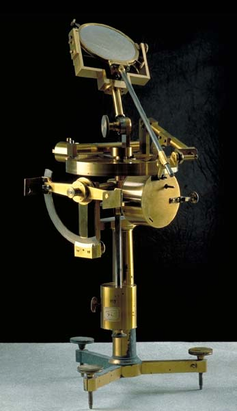 Antique mechanical heliostat