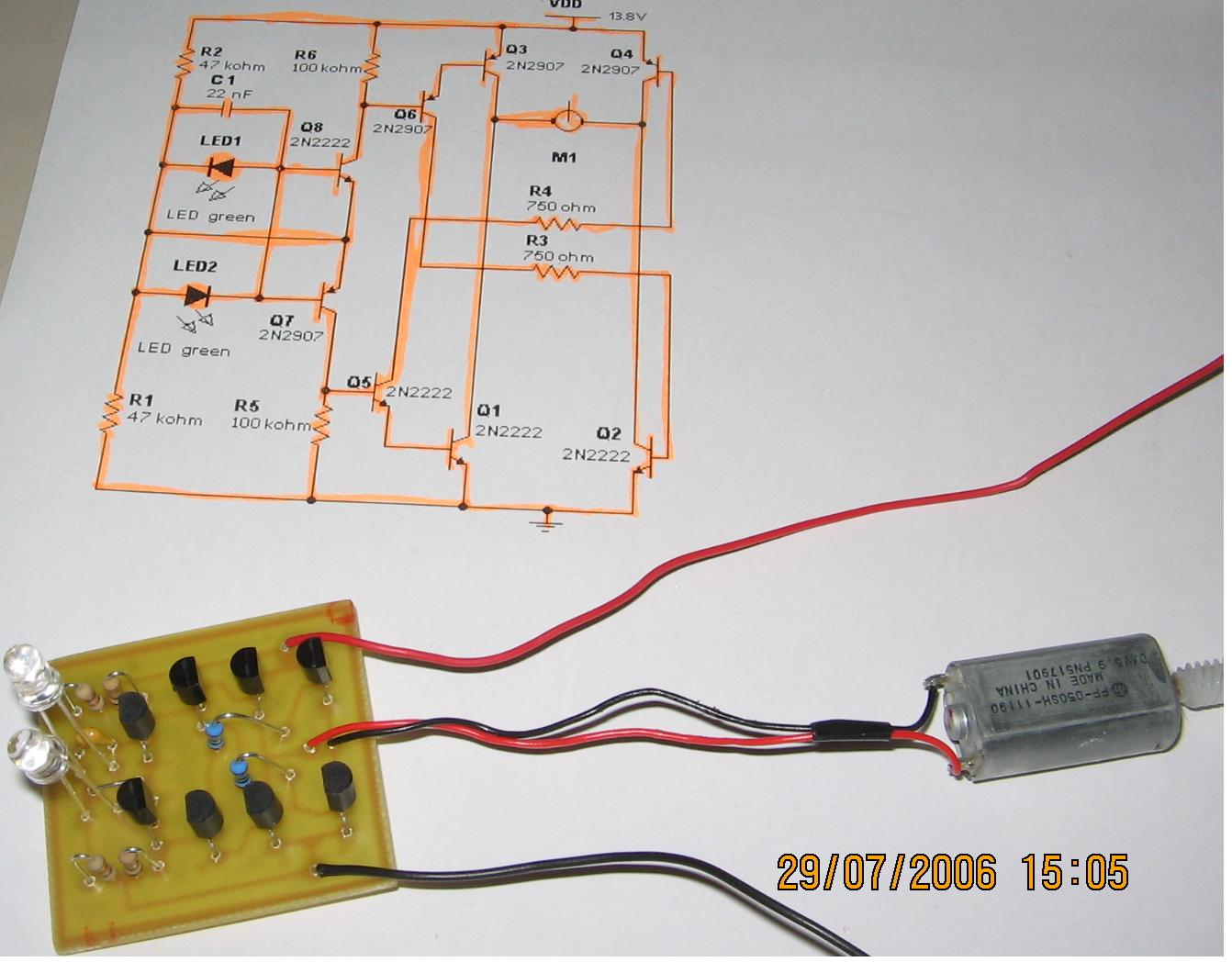 Electronic Projects Wiring A Peanut Relay Led5